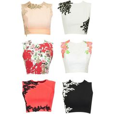 Beautiful Crop Tops by Riddhi Mehra