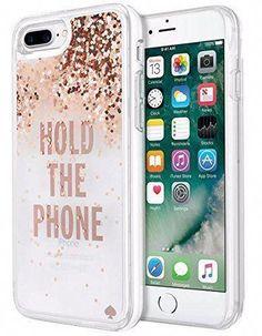 Kate Spade New York iPhone 7 Case - Clear Liquid Glitter   cooltechnologyiphone New York f4928b2286feb