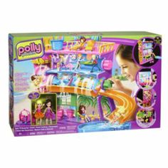 Polly Pocket Spin 'N Surprise Hotel Set by Mattel