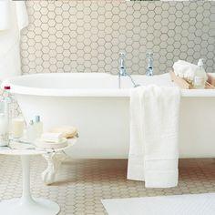 bath tub, tile.  love.