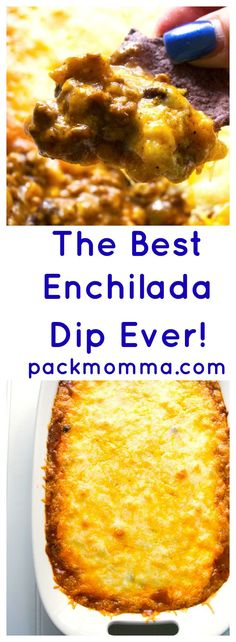 The Best Enchilada Dip Ever   Kick up your tailgating with The Best Enchilada…