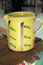 grand et ancien pichet de Savoie poterie vernissee