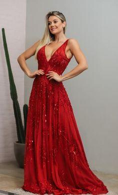Vestido vermelho para madrinha de casamento: modelos e tendências