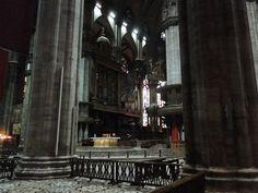 Interior view of the Duomo di Milano