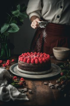 Healthy Dessert Recipes 783907878871694141 - Grain-free Chocolate Raspberry Cake Source by Healthy Dessert Recipes, Baking Recipes, Delicious Desserts, Yummy Food, Awesome Desserts, Sweets Recipes, Healthy Baking, Tasty, Chocolate Raspberry Cake