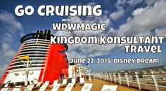 There are still rooms available on the First Annual Kingdom Konsultant/WDWMagic Family Cruise aboard the Disney Dream.  Contact us at vacations@kingdomkonsultant.com for more information.