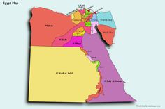 Create Custom Egypt Map Chart with Online, Free Map Maker. Color Egypt Map with your own statistical data. Data Visualization on Egypt Map. Egypt Map, Statistical Data, Egyptian Beauty, Map Maker, Free Maps, County Map, Photo Maps, Data Visualization, Adobe Illustrator