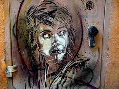 Street Art by French Artist. Check out all his work...