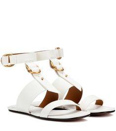 Spartiates compensées en cuir AntigoneAncient Greek Sandals Q5jhH