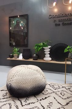 Considered Home in association with The Goodwood Co. Plascon Colours, My Dream Came True, Cape Town, Bean Bag Chair, Ottoman, Decor Ideas, Dreams, Inspiration, Furniture
