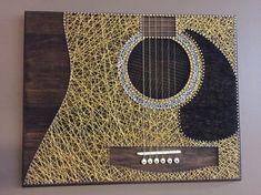 Arte de cuerdas de guitarra
