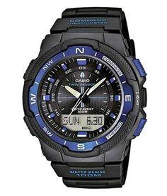 Casio SGW-500H-2BVER Collection heren horloge op Horlogeloods.nl!