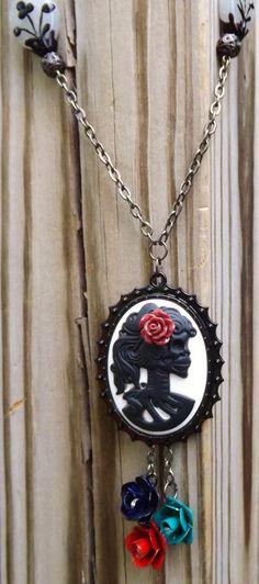 dia de los muertes necklace