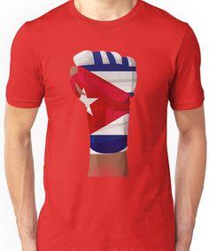 CUBA FIGHTING PRIDE Unisex T-Shirt 4074914b5