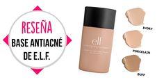 Base de maquillaje antiacné de ELF (Reseña + Pimera Impresión) | Una Men...