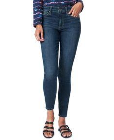 Joe's Jeans The Icon Cropped Skinny Jeans in Kalluna Women - Bloomingdale's 70s Fashion, Denim Fashion, Fashion Tips For Women, Fashion Ideas, Clothing Hacks, Cropped Skinny Jeans, Colored Denim, Joes Jeans, Jeans Brands