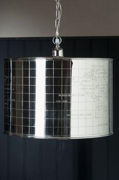 Ihana maailmankarttalamppu