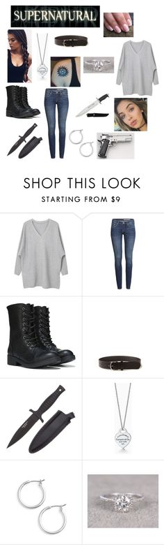 """Untitled #573"" by sara-mcgovern16 ❤ liked on Polyvore featuring MANGO, H&M, H.R., Nordstrom and Smith & Wesson"
