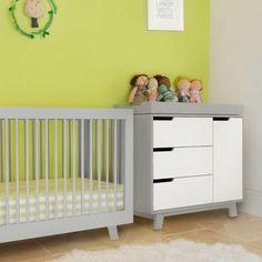 babyletto hudson gray crib.