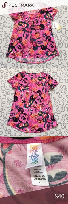 LuLaRoe Disney Classic Tee Brand new with tags. Rare Disney collection featuring mickey. Size S. LuLaRoe Tops Tees - Short Sleeve