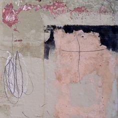 "Lorna Crane mixed media on canvas 12"" x 12"""