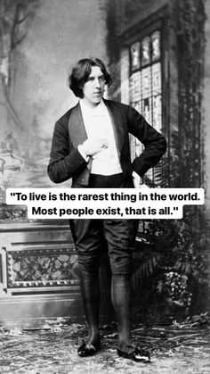 Oscar Wilde True Quotes, Words Quotes, Sayings, Qoutes, Oscar Wilde Quotes, Attitude, Genius Quotes, Philosophy Quotes, Funny Tattoos