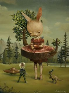 Art work by Roby Dwi Antono featured on Diabolical Rabbit