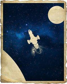 Minimalist Firefly / Serenity print