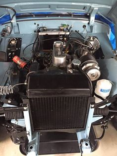 Supercharged Healey Sprite