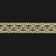 Entredós de encaje de bolillos de algodón mercerizado de 2,3 cm. (Disponible en 2 colores)