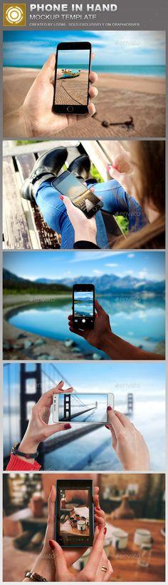 Phone in Hand Mockup #design Download: http://graphicriver.net/item/phone-in-hand-mockup-template/12522868?ref=ksioks