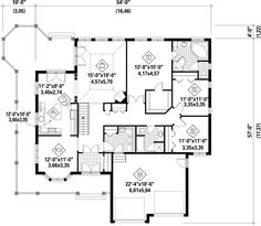 undefined First Floor from houseplansandmore.com