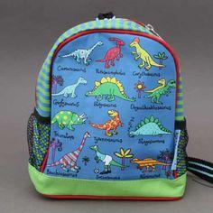 Petit sac à dos Dinosaures Tyrrell Katz enfants.  Son premier sac à dos Idéal pour pour transporter doudou, jouets et goûter. Dimensions : 19.5 x 21 x 10 cm. Imperméable, léger et confortable, sangles réglables reliées par une sangle ventrale. Idée cadeau. Motifs dinosaures : T-Rex, diplodocus, etc. Idée cadeau. http://www.lilooka.com/fr/accessoires-enfants-ecole-gourdes-sacs-boite-a-gouter/1307-petit-sac-a-dos-dinosaures-tyrrell-katz-enfants.html