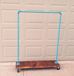 Industrial Garment Rack  CHOOSE YOUR COLOR par TylerKingstonWoodCo, $270.00