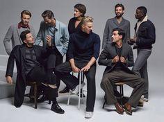 Supermodels for DETAILS Magazine September 2015