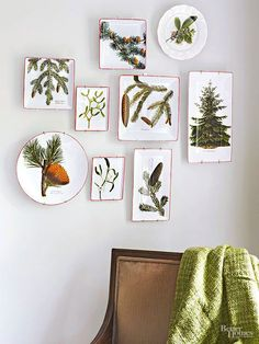 Keep your decor fresh throughout the holiday season with our easy tips and ideas. We show you how to transition your holiday decor from Thanksgiving to Christmas with a few simple updates. Christmas Holidays, Christmas Crafts, Christmas Decorations, Xmas, Christmas Tree, Natural Christmas, Blue Christmas, Christmas Ideas, Table Decorations