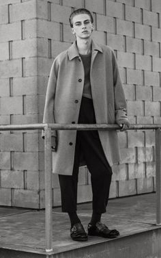Dominik Sadoch Models Winter 2016 Fashion for Telegraph Luxury