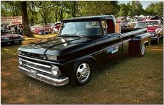 How about some pics of Trucks - Page 144 - The 1947 - Present Chevrolet & GMC Truck Message Board Network 1966 Chevy Truck, Classic Chevy Trucks, Chevy C10, Chevy Pickups, Chevrolet Trucks, Dropped Trucks, Lowered Trucks, Dually Trucks, Pickup Trucks