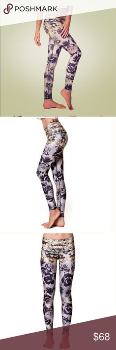 """NWT Teeki desert rose hot pant These are fabulous. Teeki is an eco-conscious brand that is made perfectly to fit every unique body. Sold out online! Size large.  Sizing as follows:  Large • US size 12-14 • Waist: 29″ – 30½"""" • Hip: 37″ – 38½"""" • Inseam: 26"""" • Length: 36.5"""" • Rise: 10""""  Great for yoga, swimming, running. Made from recycled water bottles, these leggings are really soft! Four way stretch to expand with your muscles in all movement, elastic free, breathable to reach the…"""