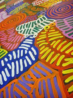 "BETTY MBITJANA - Australian Aboriginal Art  ""Awelye""  60*140cm BM1270 #Paintings"