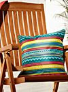 Live Outside Aztec stripes cushion 45 x 45 cm | Simons Maison | Shop Printed Pattern Cushions Online in Canada | Simons