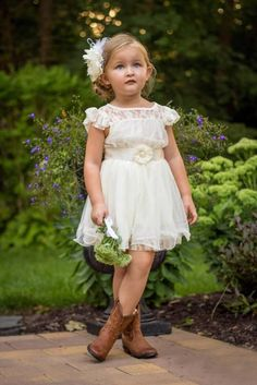 Flower girl dress party lace dress Toddler dress Girl Birthday Dress 1-10 Years