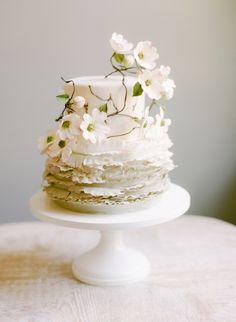 ♥ Wedding cake #Wedding #Cake