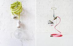 Widoczne kable? Jak najbardziej! - Projekt Blou - architektura wnętrz, handmade, inspiracje