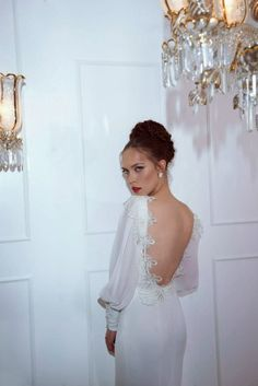 Románticos vestidos de novias de alta costura