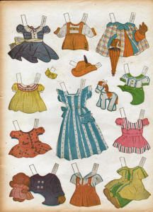 Origami Bears  Playmates paper Dolls was published by Samual Lowe, #123, in the 40s. Its a lot like Turnabout Dolls, #1025. The artists for both were Doris and Marion Henderson. Other paper doll books by the Henderson sisters were The Baby Show, Dolls at Play, Playhouse paper Dolls, and Playground Paper Dolls. I love all of their paper doll books because they all have lots of paper dolls.