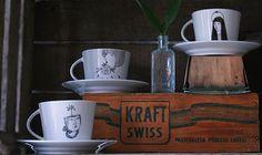 teacups by Irana Douer