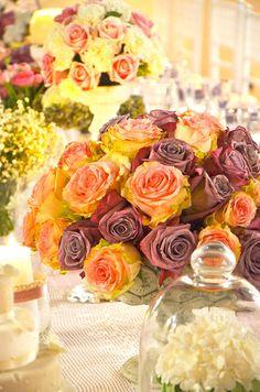 #Fiori d'arancio...e non solo! Tante idee floreali per colorare le tue #nozze a #RomaSposa 2015. #rose #bouquet #composizioni