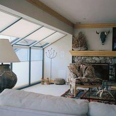 Daylight Skylight shades for large roof windows - eclectic - cellular shades - burlington - CellularWindowShades.com