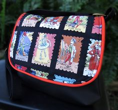 This bag is a great size for carrying a wallet and cell phone and a few other essentials. This purse is a cross-body style purse so it is great for active days.